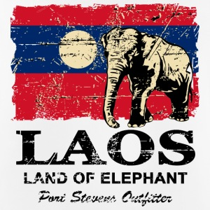 Elephant - Laos - Vintage Look  Ropa deportiva - Camiseta sin mangas hombre transpirable