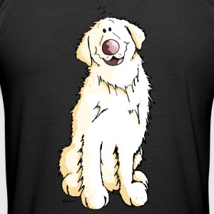 Goldi Golden Retriever T-Shirts - Men's Slim Fit T-Shirt