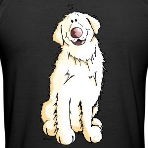 Goldie Golden Retriever - Hund - Hunder T-skjorter - Slim Fit T-skjorte for menn