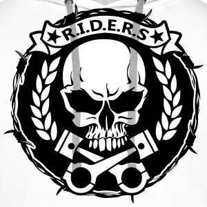 Sweat Riders - Sweat-shirt à capuche Premium pour hommes