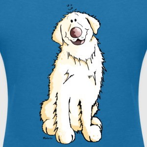 Goldi Golden Retriever T-Shirts - Women's V-Neck T-Shirt