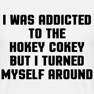 Addicted Hockey Cokey  T-shirts - T-shirt herr