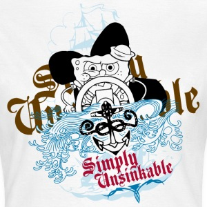 Womens' Shirt SpongeBob 'Simply Unsinkable' - Frauen T-Shirt