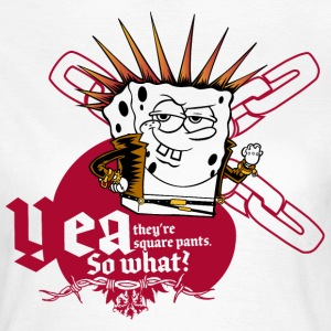 Womens' Shirt SpongeBob 'Yea, so what?' - Women's T-Shirt
