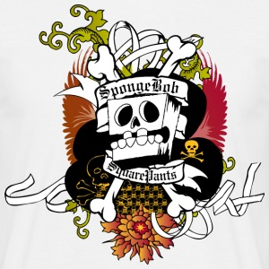 Mens' Shirt SpongeBob Skeleton - Männer T-Shirt