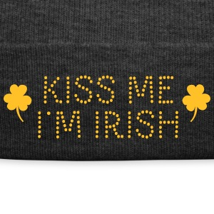 kiss me i'm irish dotted / shamrock / st paddy's Caps & Hats - Winter Hat