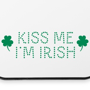 kiss me i'm irish dotted / shamrock / st paddy's Phone & Tablet Cases - iPhone 4/4s Hard Case