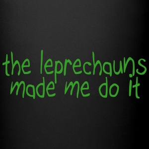 the leprechauns made me do it Muggar & tillbehör - Enfärgad mugg