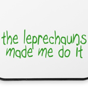 the leprechauns made me do it Phone & Tablet Cases - iPhone 4/4s Hard Case