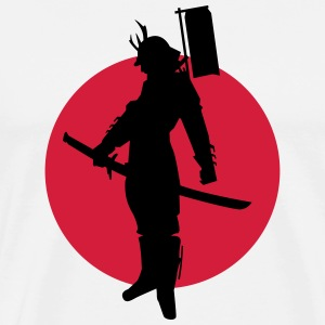 japan samurai T-Shirts - Men's Premium T-Shirt