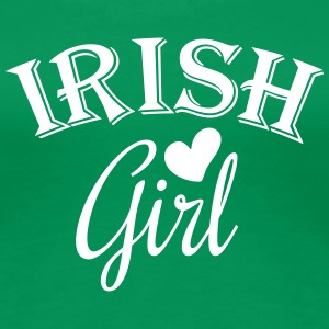 irish girl T-skjorter - Premium T-skjorte for kvinner