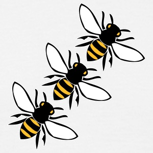flying bees T-Shirts - Men's T-Shirt