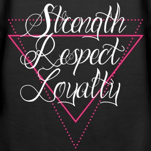 strength-respect-loyalty - Frauen Premium Hoodie