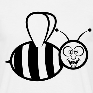 Bee sjove T-shirts - Herre-T-shirt