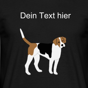 Foxhound / Beagle - Männer T-Shirt