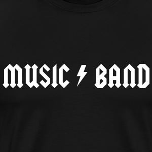 Music Band Logo T-Shirts - Men's Premium T-Shirt