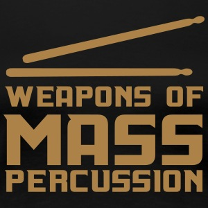 Weapons of Mass Percussion T-Shirts - Women's Premium T-Shirt