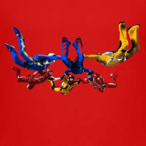 skydivers T-shirts - Teenager premium T-shirt