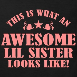 Awesome Lil Sister Looks Like Shirts - Kids' Organic T-shirt