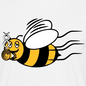 Bee fly joint kiffen T-Shirts - Men's T-Shirt