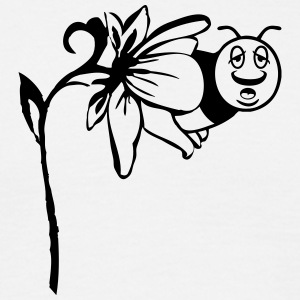 Bee flower funny T-Shirts - Men's T-Shirt