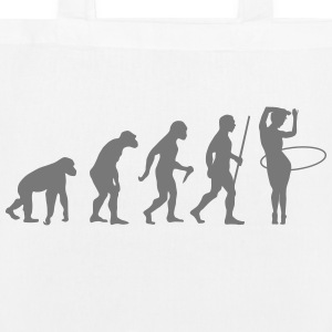 Evolution Hula Hoop Bags & Backpacks - EarthPositive Tote Bag