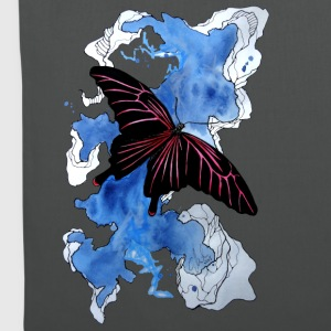 Butterfly, Schmetterling, Illustration, carographi - Stoffbeutel