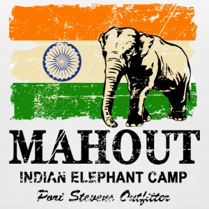 Mahout - Vintage Look Tee shirts - T-shirt col V Femme