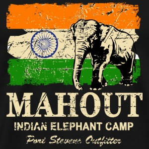 Mahout - Vintage Look Tee shirts - T-shirt Premium Homme
