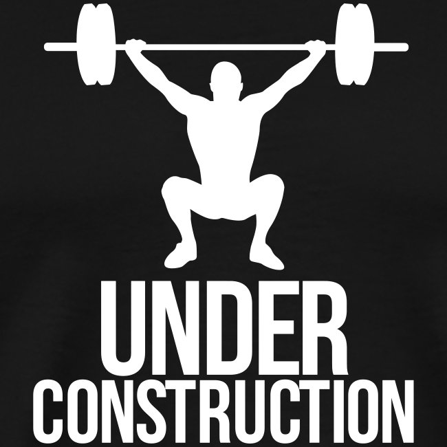 under construction tshirt