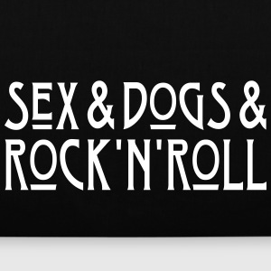 Sex and Dogs and Rock'n'Roll Bags & Backpacks - Tote Bag