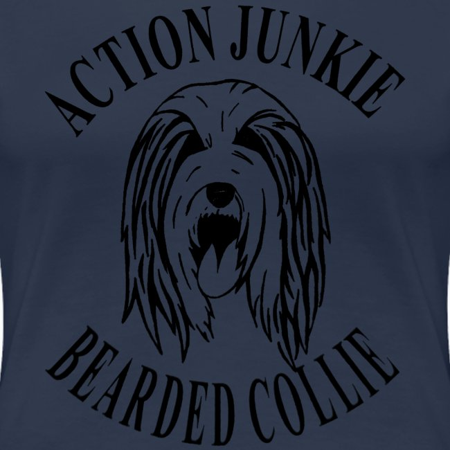 Action Junkie Bearded Collie