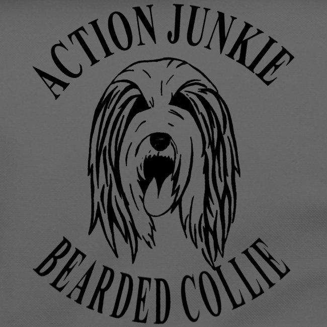 Umhängetasche Bearded Collie