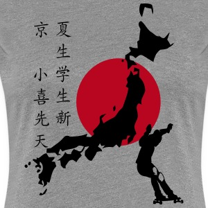 Longboarding is cool in Japan T-Shirts - Frauen Premium T-Shirt