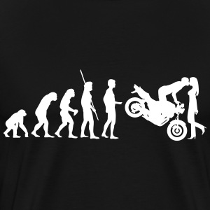 Evolutie Naked Bike kus T-shirts - Mannen Premium T-shirt