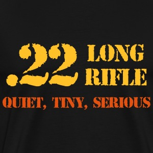 22 ammo guns t-shirt - Men's Premium T-Shirt