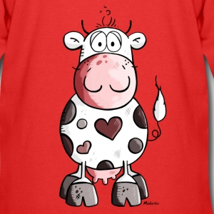 Lovely cow Hoodies - Kids' Premium Zip Hoodie