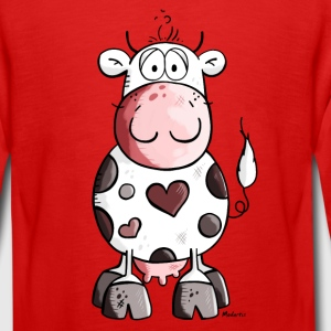 Lovely cow Long Sleeve Shirts - Teenagers' Premium Longsleeve Shirt
