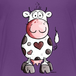 Lovely cow Shirts - Teenage Premium T-Shirt