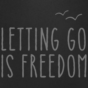 Letting Go Is Freedom Tee shirts - T-shirt Homme col V