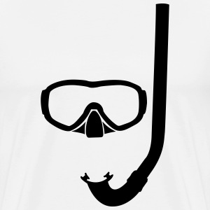 Mask and snorkel T-Shirts - Men's Premium T-Shirt
