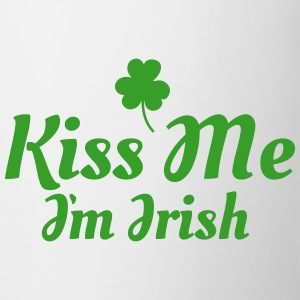 kiss me im Irish excellent Mugs & Drinkware - Mug