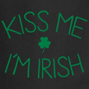 kiss me im Irish cute Kookschorten - Keukenschort