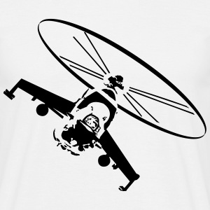 Helicopter helicopter military battle T-Shirts - Men's T-Shirt