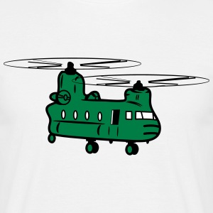 Helicopter helicopter military T-Shirts - Men's T-Shirt
