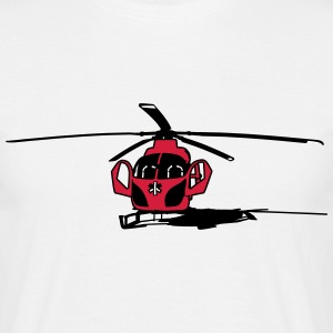 Land, helikopter T-shirts - Herre-T-shirt