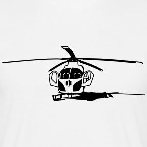 Mark helikopter helikopter T-shirts - T-shirt herr