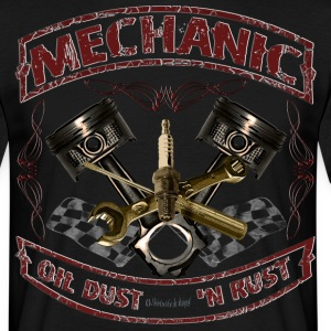 Mechanic design vintage Mechaniker Hot Rod T-Shirts - Männer T-Shirt