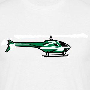 Helicopter Helicopter flying sport T-Shirts - Men's T-Shirt
