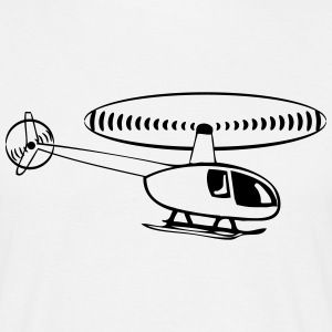 Helikopter helikopter T-shirts - T-shirt herr